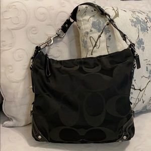 Coach Black Bucket Bag